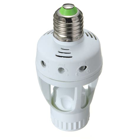 Switch Lighting Led Bulb Led E27 L Bulb Holder Switch Ac Infrared Pir Motion