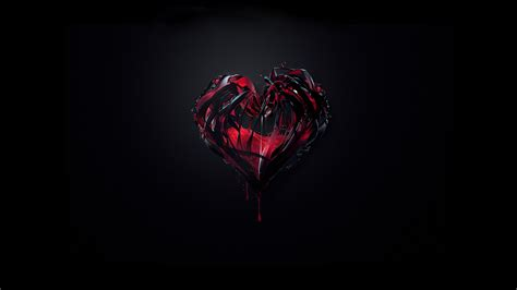 wallpaper dark heart black hearts background wallpaper 1060380