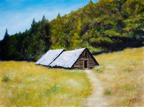 cottages in the mountains mountain cottages painting arts gallery