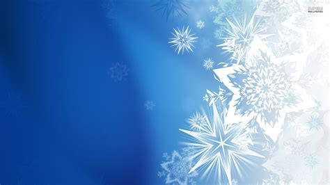 Blue Snowflake Background Wallpaper Hq Free Download 10847 Snowflake Powerpoint