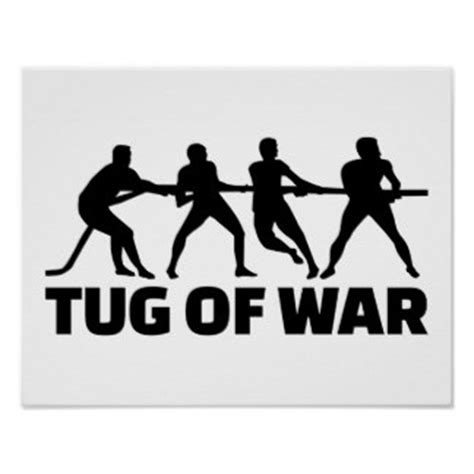 tug of war posters | zazzle
