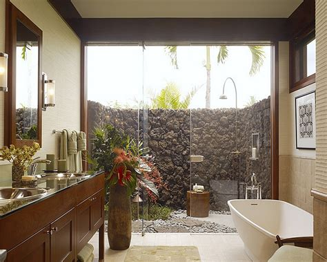 Outside Bathroom Ideas by 23 Amazing Inspirations That Take The Bathroom Outdoors