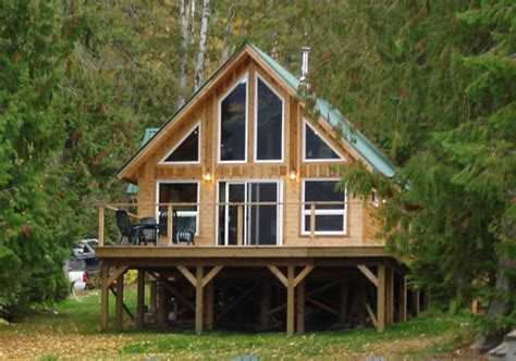 falcon custom cabins garages post and beam homes cedar