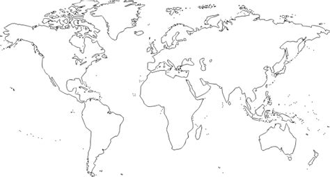 sketchbook kosong world map clip free vector 4vector