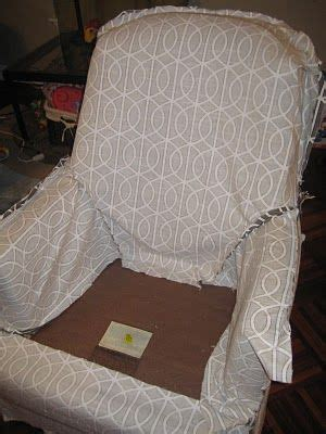 slipcover tutorial for chairs slipcovers chairs and tutorials on pinterest