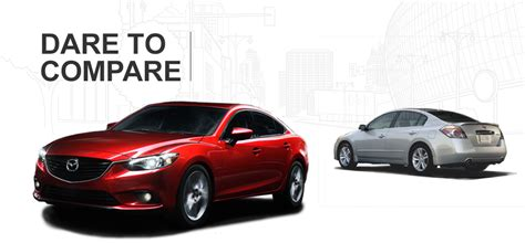 2015 Mazda 6 Vs 2015 Nissan Altima