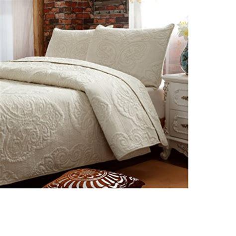 amazon com best home fashion premium linen look roller brandream white beige vintage floral comforter set queen