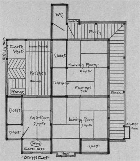 traditional japanese house floor plan minka architecture traditional japanese architectural
