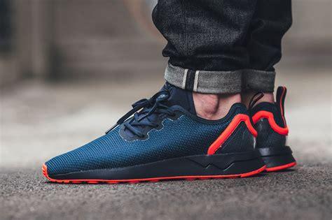 adidas zx flux adv adidas zx flux adv asymmetrical collegiate navy sneaker