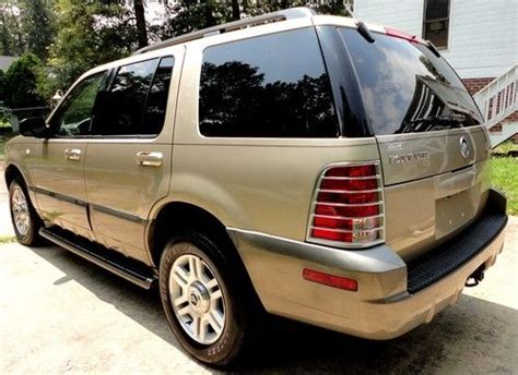 auto air conditioning repair 2003 mercury mountaineer seat position control find used inmaculate 2003 mercury mountaineer v6 102k leather sunroof 3rd row seat in