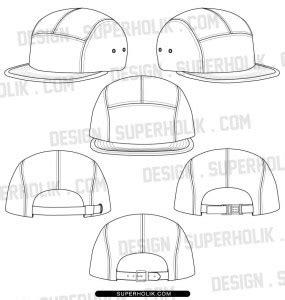 Fashion Design Templates Vector Illustrations And Clip Artssnapback Archives 187 Fashion Design Hat Template Illustrator