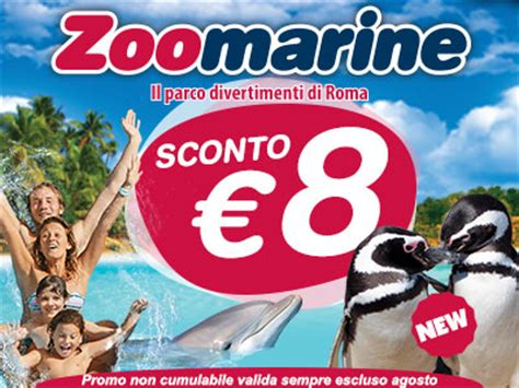 ingresso zoomarine ingresso scontato a zoomarine il parco di torvaianica