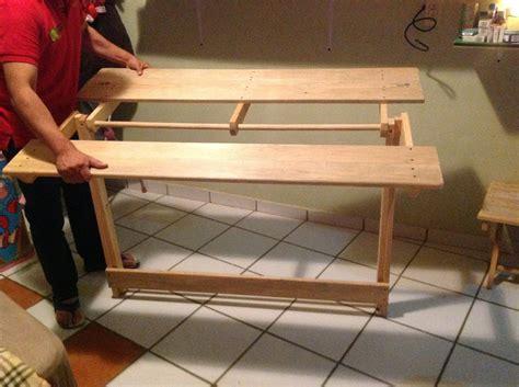 mesas de madera para jardin