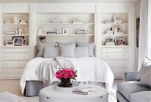 bed with shelves around it built in shelving around bed and headboard nesting