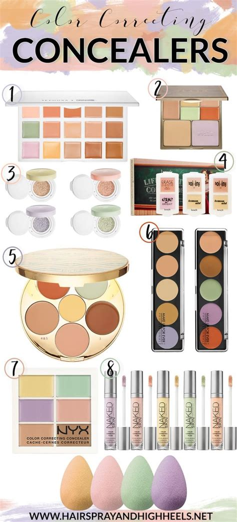how to use color correcting concealers colors how to use and the o jays on
