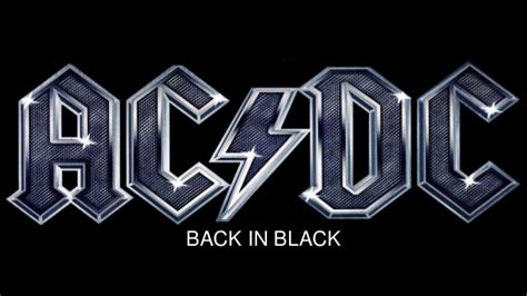 back in black back in black ac dc