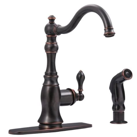 kingston brass kitchen faucets cheap deals kingston brass gs7706aclsp single handle deck