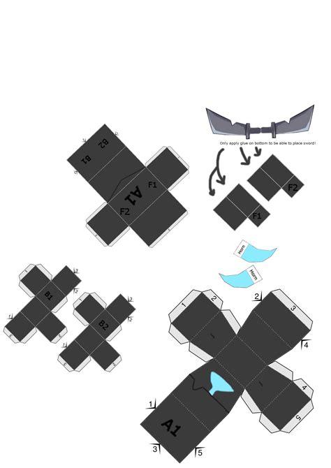 clash royale papercraft mini pekka