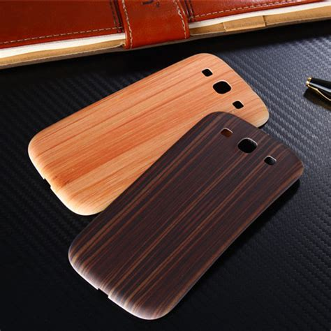 Bamboo Wood Replacement Door Back Battery Housing Cover 1 original wood bamboo pattern for samsung galaxy s3 i9300 back battery cover housing