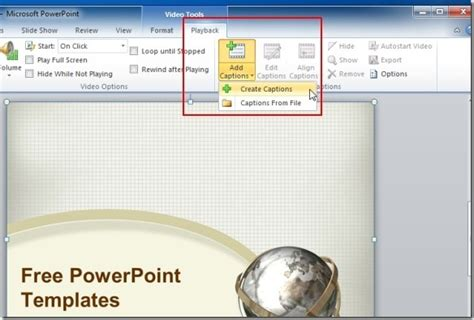 add powerpoint template add captions jpg fppt