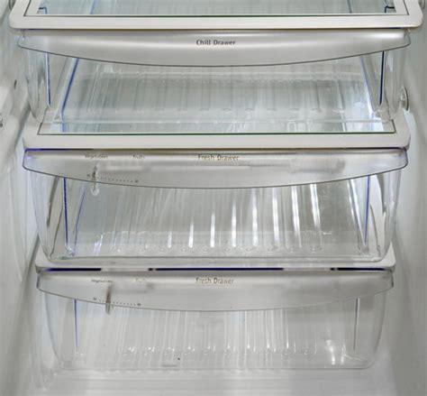 frigidaire crisper drawer settings frigidaire gallery fghs2655pf refrigerator