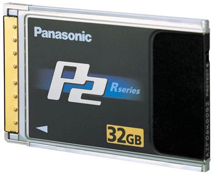 p2 panasonic panasonic offers up 32gb p2 memory card