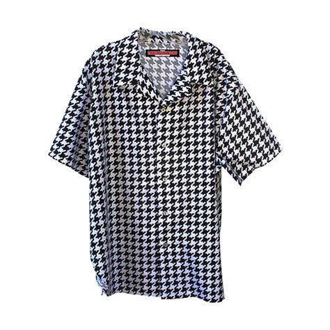 Houndstooth Shirt trailer park boys houndstooth black white shirt