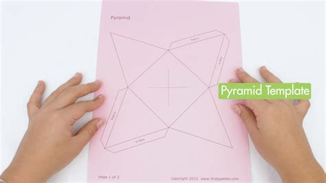 How To Make A Paper Pyramid 3d - how to make a paper pyramid 15 steps with pictures