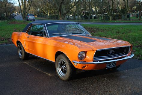 Mustang Auto 1968 by Sold Quot Quot 1968 Ford Mustang Auto V8 Coupe Essex