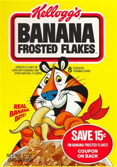 Frosted Flakes Meme - banana frosted flakes from kellogg s kellogg s they are