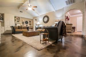 living room metallic epoxy floor coating modern living room dallas by versatile coatings llc