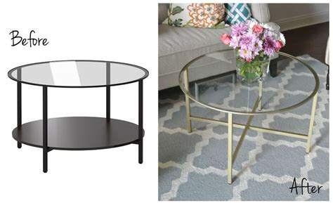 ikea hack une table basse version rose gold olive lane ikea hack vittsjo coffee table use the