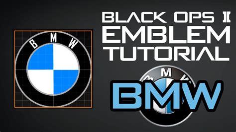 tutorial logo bmw black ops 2 bmw logo emblem tutorial youtube
