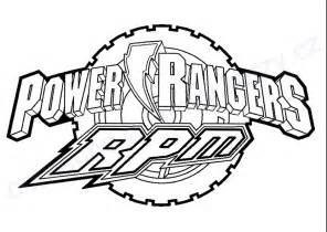 17 dessins coloriage power rangers rpm 224 imprimer