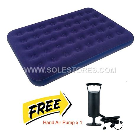 inflatable double air bed mattress     pm