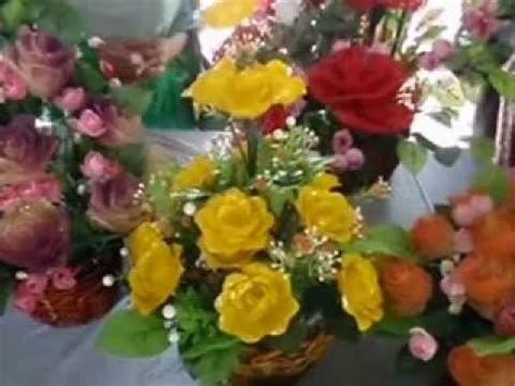 Bunga Plastik 1 bunga dari botol plastik
