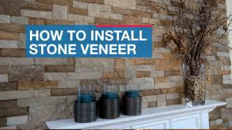How To Install Veneer On Fireplace by How To Install Veneer