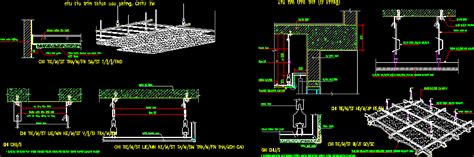 Drop Ceiling Detail Dwg by Dwg Projects 3d Projects Cad Tools 3ds Max Dxf
