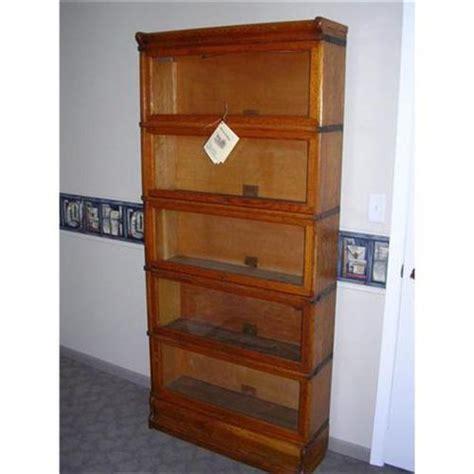 globe wernicke sectional bookcase value globe wernicke 5 stack oak barrister bookcase 1033371
