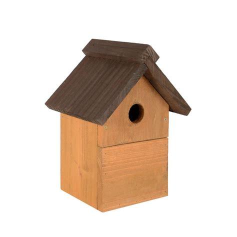 traditional wooden mulit style nesting garden bird box