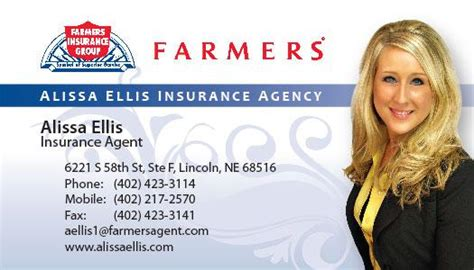 Farmers Insurance Business Card Template by Insurance Marketing Business Card Http