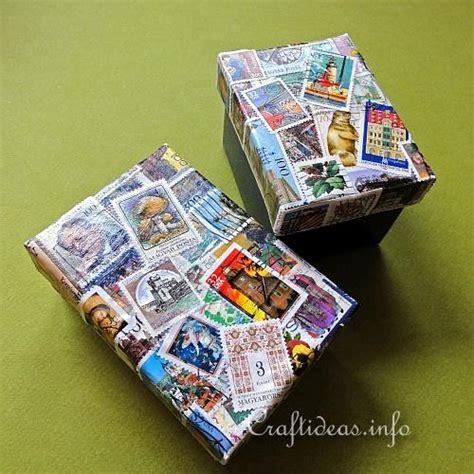 decoupage tutorial shoe box decoupage craft project decoupage paper mache box