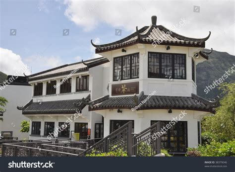 chinese house music old chinese house style stock photo 38379046 shutterstock