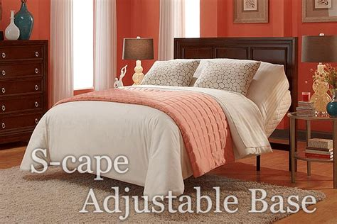 s cape wall hugger adjustable bed with mattress electric bed