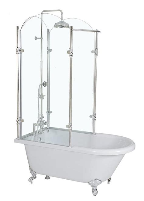 claw foot tub installation surround 17 best ideas about clawfoot tub shower on pinterest