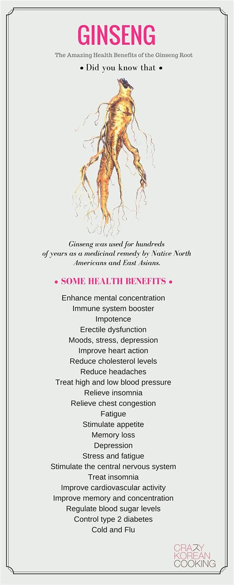 Ginseng Detox Benefits by 25 Best Ideas About Ginseng Benefits On