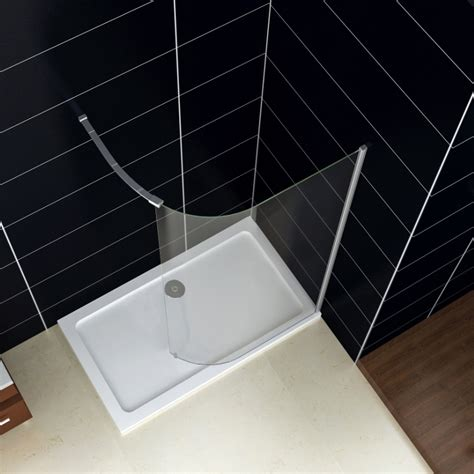 Curved Glass Shower Doors Curved Bath Shower Screens New Walk In Shower Enclosure Room Cubicle Curved Glass Screen