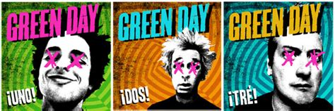 Kaos Band Rock Green Day Uno Dos Tre Gd16 green day set to kick 161 uno 161 dos 161 tr 201 world tour the rock revival