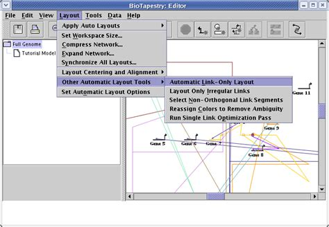 html layout link biotapestry tutorial building networks from interaction