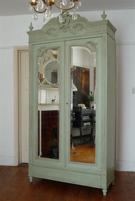 Painted Armoire Furniture by Dazzle Vintage Furniture Armoires